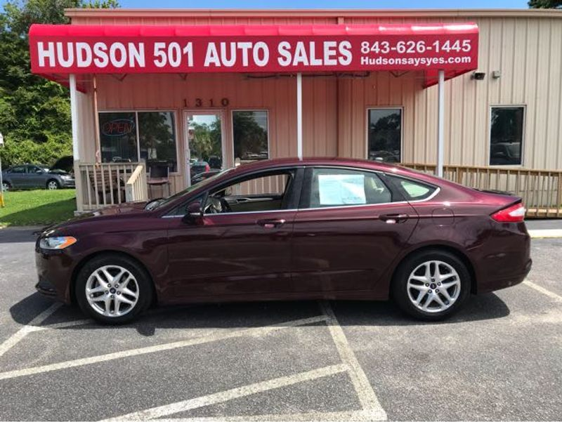 2013 Ford Fusion SE   Myrtle Beach, South Carolina   Hudson Auto Sales in Myrtle Beach South Carolina