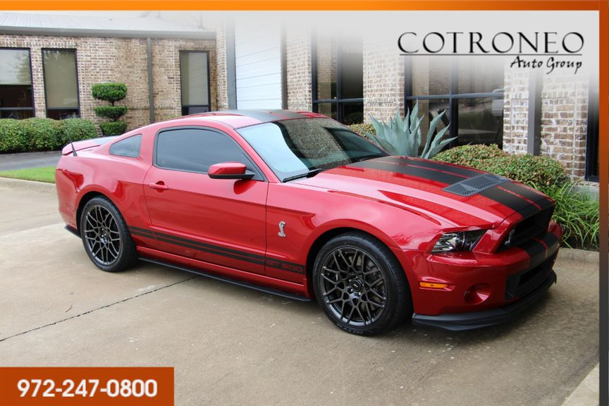 2013 Ford Mustang Shelby Gt500 Coupe Addison Tx Cotroneo Auto Group