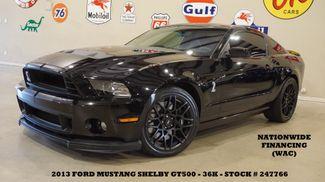2013 Ford Mustang Shelby GT500 Coupe NAV,RECARO,BLK WHLS,36K in Carrollton TX, 75006