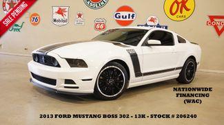 2013 Ford Mustang Boss 302 6 SPD,RECARO,BLK WHLS,13K,WE FINANCE in Carrollton, TX 75006