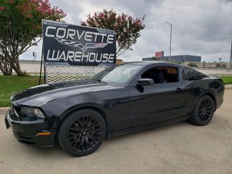 2013 Ford Mustang V6 Coupe, Manual, CD Player, Black Alloys 122k in Dallas, Texas 75220
