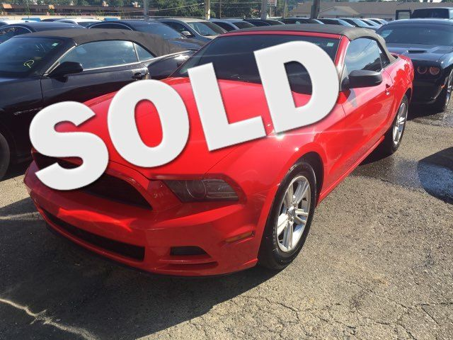 2013 Ford Mustang V6 - John Gibson Auto Sales Hot Springs in Hot Springs Arkansas