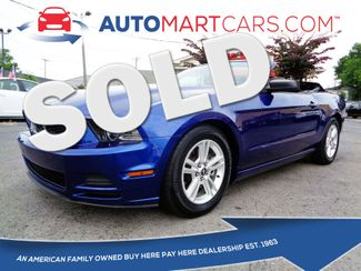 2013 Ford Mustang V6   Nashville, Tennessee   Auto Mart Used Cars Inc. in Nashville Tennessee