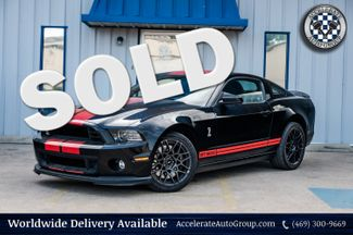 2013 Ford Mustang 5.8L S/C SHELBY GT500, SVT-PERFORMANCE, NICE MODS! in Rowlett