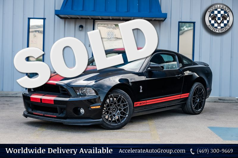 2013 Ford Mustang 5.8L S/C SHELBY GT500, SVT-PERFORMANCE, NICE MODS! in Rowlett Texas