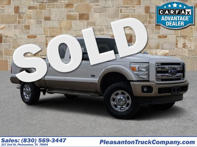 2013 Ford Super Duty F-250 Pickup King Ranch | Pleasanton, TX | Pleasanton Truck Company in Pleasanton TX