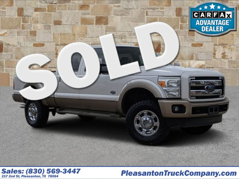2013 Ford Super Duty F-250 Pickup King Ranch | Pleasanton, TX | Pleasanton Truck Company in Pleasanton TX
