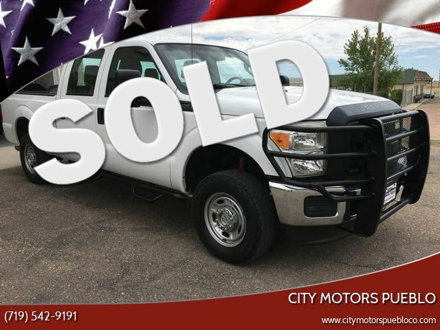 2013 Ford Super Duty F-250 Pickup XL Pueblo West, CO