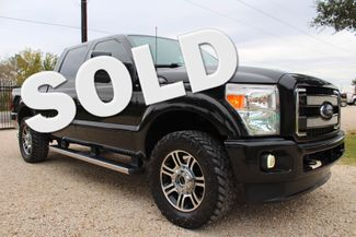2013 Ford Super Duty F-250 Platinum Crew Cab 4X4 6.7L Powerstroke Diesel Auto Sealy, Texas