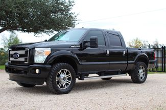 2013 Ford Super Duty F-250 Platinum Crew Cab 4X4 6.7L Powerstroke Diesel Auto Sealy, Texas 5