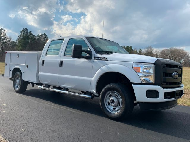 2013 2013 Ford F-250 Crew Cab 4X4 1-OWNER 6.2L UTILITY SERVICE TRUCK