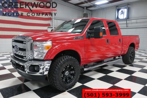 2013 Ford Super Duty F-250 XLT FX4 4x4 Diesel Red New 35