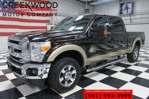 2013 Ford Super Duty F-250 Lariat 4x4 Diesel Black Chrome BFG Leather Clean in Searcy, AR