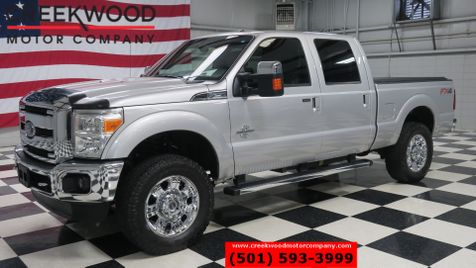 2013 Ford Super Duty F-250 Lariat 4x4 Diesel FX4 Nav Roof Chrome 20s 1 Owner in Searcy, AR