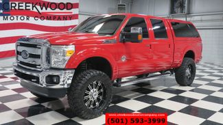 2013 Ford Super Duty F-250 Lariat 4x4 Diesel FX4 Red Lifted Nav Roof 20s NICE in Searcy, AR 72143
