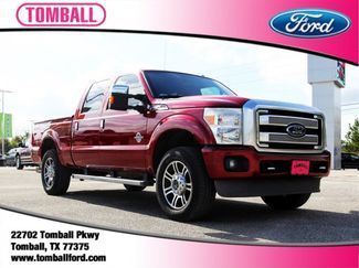 2013 Ford Super Duty F-250 SRW Platinum in Tomball, TX 77375