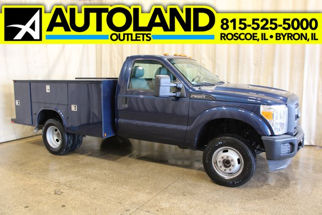 2013 Ford Super Duty F-350 Utility 4x4 XL