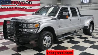 2013 Ford Super Duty F-350 Lariat 4x4 Diesel Dually Silver Nav Sunroof CLEAN in Searcy, AR 72143