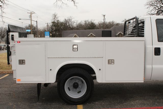 2013 Ford Super Duty F-350 Service Utility Contractor Work Truck W/ Lift Irving, Texas 18