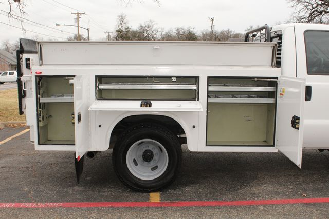 2013 Ford Super Duty F-350 Service Utility Contractor Work Truck W/ Lift Irving, Texas 27