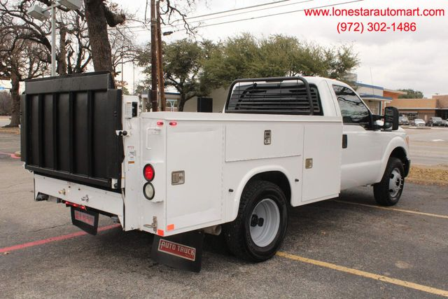 2013 Ford Super Duty F-350 Service Utility Contractor Work Truck W/ Lift Irving, Texas 0