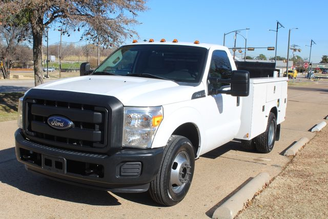 2013 Ford Super Duty F-350 Service Utility Contractor Work Truck W/ Lift Irving, Texas 4