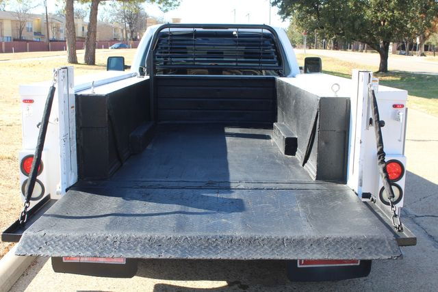 2013 Ford Super Duty F-350 Service Utility Contractor Work Truck W/ Lift Irving, Texas 34