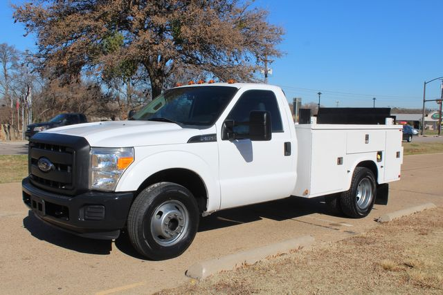 2013 Ford Super Duty F-350 Service Utility Contractor Work Truck W/ Lift Irving, Texas 5
