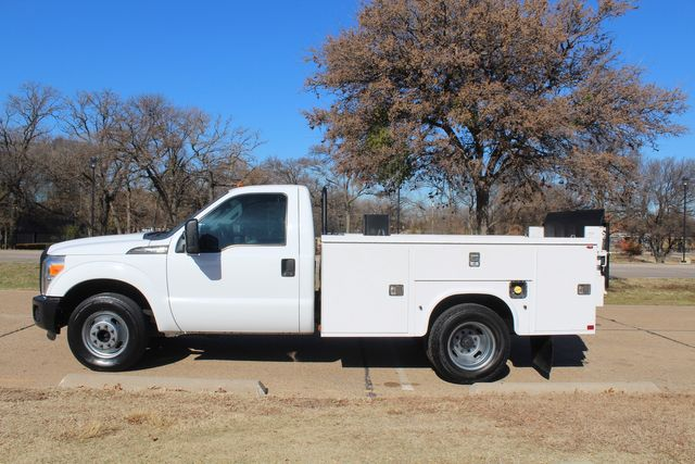 2013 Ford Super Duty F-350 Service Utility Contractor Work Truck W/ Lift Irving, Texas 6