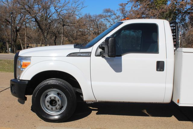 2013 Ford Super Duty F-350 Service Utility Contractor Work Truck W/ Lift Irving, Texas 7