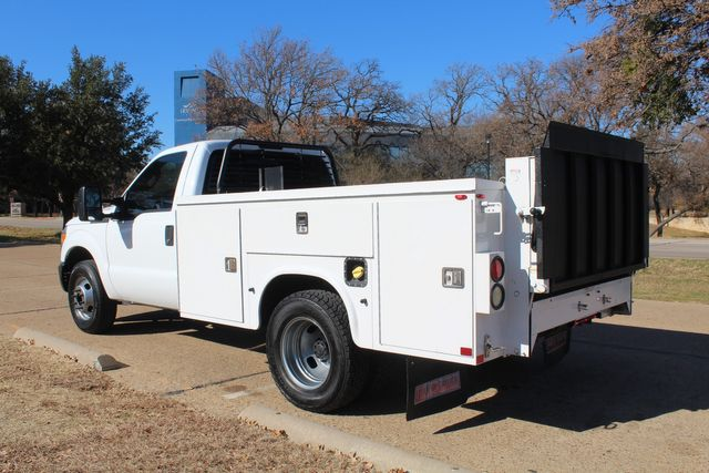 2013 Ford Super Duty F-350 Service Utility Contractor Work Truck W/ Lift Irving, Texas 9