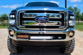 2013 Ford Super Duty F-350 SRW Lariat Crew Cab 4X4 6.7L Powerstroke Diesel Auto LIFTED LOADED Sealy, Texas 13