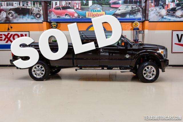2013 Ford Super Duty F-350 SRW Pickup Platinum 4X4