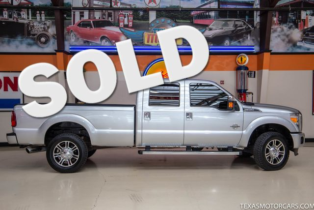 2013 Ford Super Duty F-350 SRW Pickup Platinum 4x4