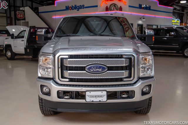 2013 Ford Super Duty F-350 SRW Pickup Platinum 4x4 in Addison, Texas 75001