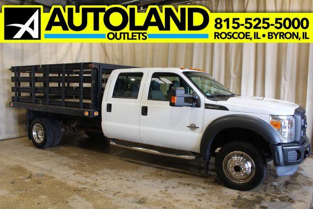 2013 Ford Super Duty F-450 Diesel 4x4 Stake Bed XL