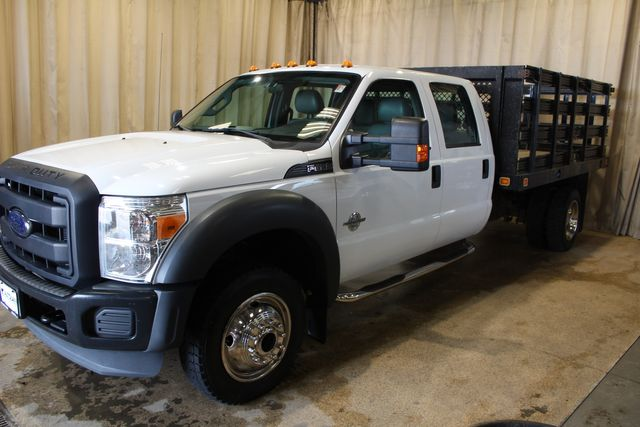 2013 Ford Super Duty F-450 Diesel 4x4 Stake Bed XL in Roscoe, IL 61073