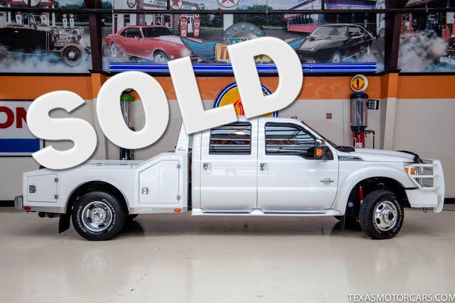 2013 Ford Super Duty F-450 Pickup Platinum 4x4