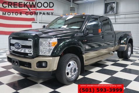 2013 Ford Super Duty F-450 King Ranch 4x4 Diesel Dually Green Nav Roof CLEAN in Searcy, AR