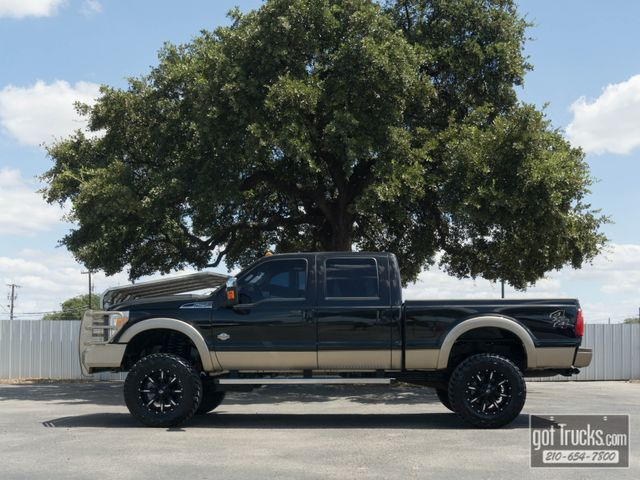 2013 Ford Super Duty F250 Crew Cab King Ranch 6.2L V8 4X4