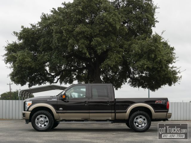 2013 Ford Super Duty F250 Crew Cab King Ranch FX4 6.7L Power Stroke 4X4