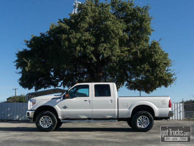 2013 Ford Super Duty F250 Crew Cab Lariat 6.7L Power Stroke Diesel 4X4