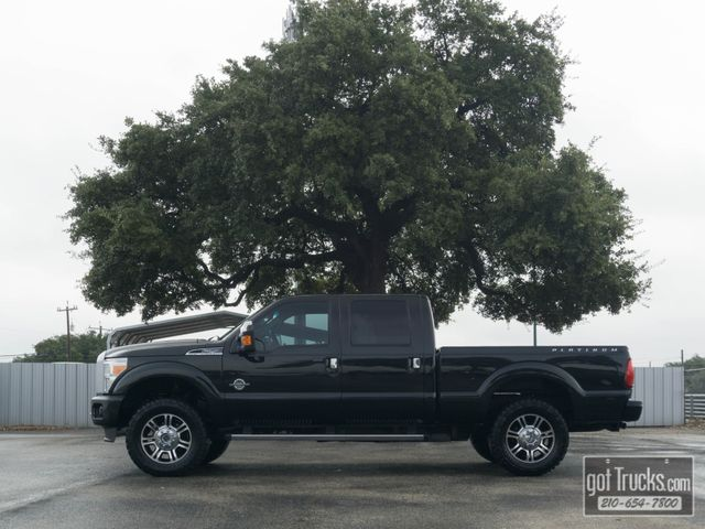 2013 Ford Super Duty F250 Crew Cab Platinum 6.7L Power Stroke Diesel 4X4