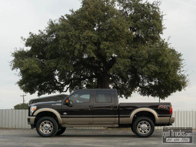 2013 Ford Super Duty F250 Crew Cab King Ranch FX4 6.7L Power Stroke 4X4