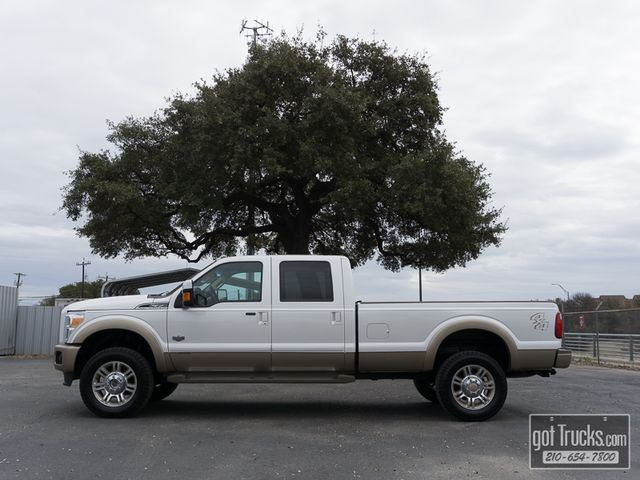 2013 Ford Super Duty F350 Crew Cab King Ranch 6.7L Power Stroke Diesel 4X4