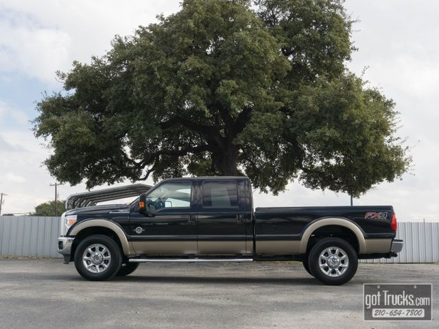 2013 Ford Super Duty F350 Crew Cab Lariat FX4 6.7L Power Stroke Diesel 4X4