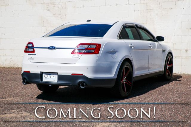 2013 Ford Taurus SEL Sport Sedan w/Touchscreen Infotainment, Heated Seats, Power Moonroof, and Remote Start in Eau Claire, Wisconsin 54703