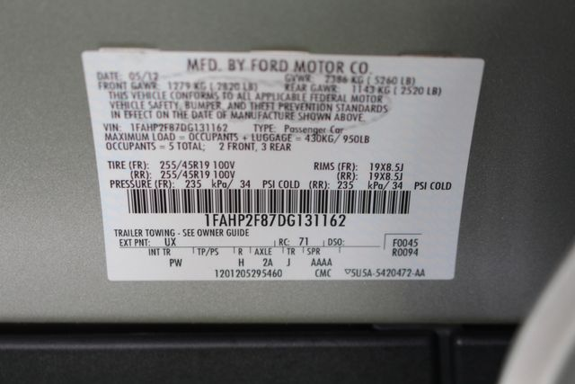 2013 Ford Taurus Limited FWD - 301A PKG - HEATED/COOLED LEATHER! Mooresville , NC 48