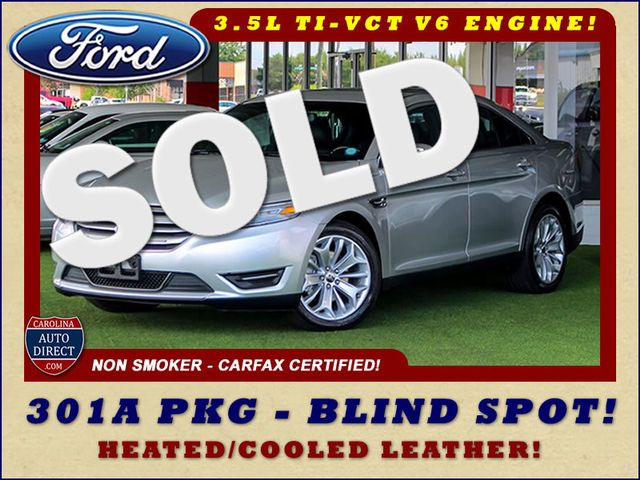 2013 Ford Taurus Limited FWD - 301A PKG - HEATED/COOLED LEATHER! Mooresville , NC