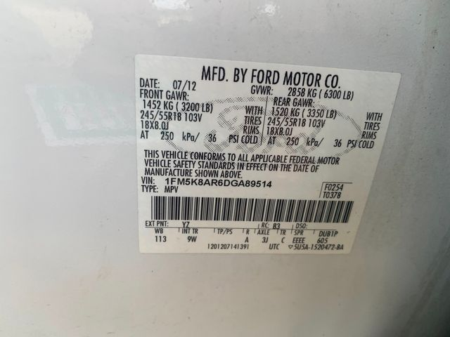 2013 Ford Utility Police Interceptor Hoosick Falls, New York 7